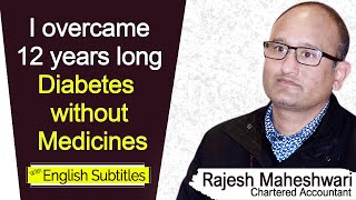 Chronic Diabetes Cured - The CA expresses miraculous results after Following NLS