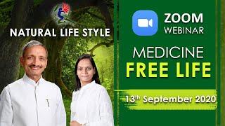 Webinar 13-09-20 - Nature Cure - Zoom Platform (IST 9:00am to 6: 00 pm) - Medicine Free life
