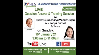 10th  January  2021  -  Live Question Answer Session
