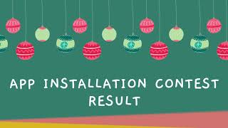Study At Home - Learning App Install Contest Result !!
