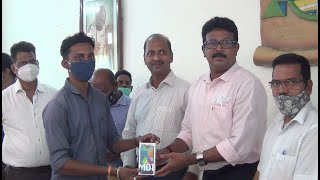 CCP distributes Smart phone to its supervisors