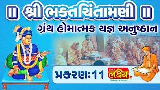 શ્રી ભક્તચિંતામણીગ્રંથ હોમાત્મક યજ્ઞ અનુષ્ઠાન  Swami Nityaswarupdasji   Tirthdham Sardhar    Part-11