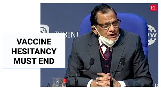 Vaccine hesitancy must end; nasal vaccine candidate could be a game-changer: Dr VK Paul