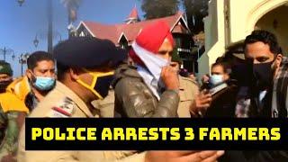 Police Arrests 3 Farmers In Shimla | Catch News