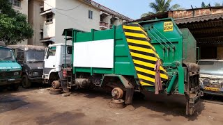 WATCH | MMC compactor sans wheels mocked online