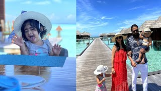 Yash and Radhika Pandit shares beautiful moments of Maldives | Yash | Ayra | Radhika Pandit