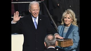 Joe Biden takes oath as 46th US President, pleads for unity in inaugural address