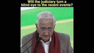 Shri Salman Khurshid addresses media at AICC HQ