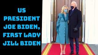 US President Joe Biden, First Lady Jill Biden Arrive At White House | Catch News
