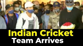 Indian Cricket Team Arrives At Mumbai Airport | Catch News