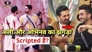 Shocking Kya Aly Goni Aur Abhinav Ki FIGHT Scripted Hai? Ye Raha Proof | Bigg Boss 14