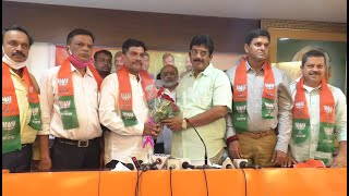 CongToBJP | Cong South Goa Secretary Parag Raikar Joins BJP