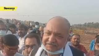 जल संसाधन मंत्री ने अरपा बैराज का किया भूमिपूजन cglivenews