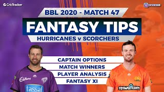 BBL, 47th Match, 11Wickets Team, Perth Scorchers vs Hobart Hurricanes, Full Team Analysis