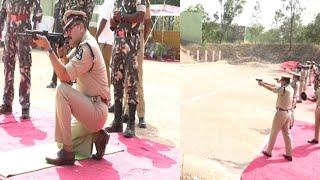 See CP Anjani Kumar Firing   Annual Firing Practice By Hyderabad Police  @Sach News