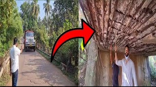 This bridge could collapse anytime in Curchorem