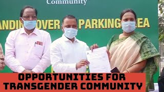 Bhubaneswar Municipal Corporation Opens Doors Of Opportunities For Transgender Community