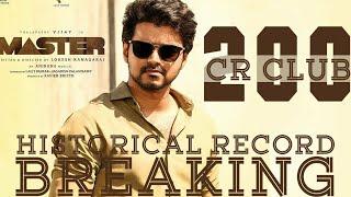Master Crosses 200 Crores Worldwide In 9 Days,Thalapathy Vijay Fourth Film After Bigil,Mersal,Sarkar