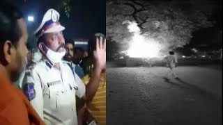 Ghouse Azam Dastagir Ke Jhande Ko Lagi Aag ? | Mancherial | CP V.Satyanarayana Speaks |@Sach News