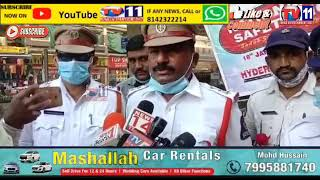 NATIONAL ROAD SAFETY CELEBRATED BY SULTAN BAZAAR TRAFFIC POLICE AT SULTAN BAZAAR METRO STATION