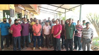 Sanatan | Bokadbag locals protest entry of Sanatan members to hilly residential area.