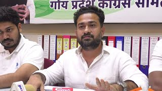 Goa Pradesh Youth Congress  has demanded 75%  job Reservation for Goan Youth in private sector