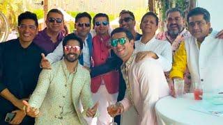 Bollywood Stars Gather In Alibaug Ahead Of Varun Dhawan & Natasha Dalal's Wedding