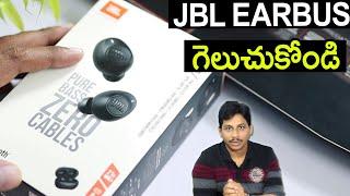 JBL TWS C115  Unboxing Telugu | Best Earbuds