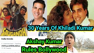 Akshay Kumar Completes 30 Years Of Bollywood, Saugandh Released On January 25, 1991