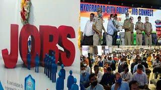 Job Connect Program | Inaugurated By Hyderabad CP Anjani Kumar | Secunderabad |@Sach News