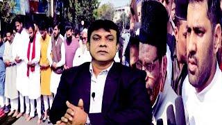 Shaheed Masjido Ke Lekar Hyderabad Ke Muslims Road Par | Musthaq Malik | Osman Md Khan | @Sach News