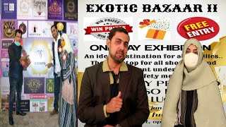All Are Invited At Exotic Bazaar 2 On 26 January At Meridian Function Palace Malakpet Hyderabad |