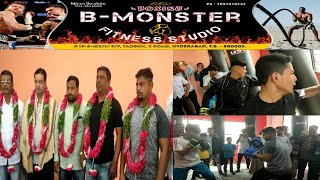 B-Monster Fitness Studio Boxing Club | Inaugurated By | MLA Moazam Khan | Tadban | Hyderabad |