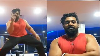 Dhruva Sarja open challenge for all | just do it and watch Pogaru Movie With with Dhruva Team