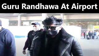 Guru Randhawa At Airport