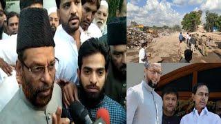 Mushtaq Malik Ne Aimim Aur TRS Par Lagaya ilzaam | Shaheed Masjidi Ko Lekar |@Sach News