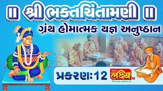 શ્રી ભક્તચિંતામણીગ્રંથ હોમાત્મક યજ્ઞ અનુષ્ઠાન||Swami Nityaswarupdasji ||Tirthdham Sardhar || Part-12