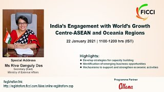 India's Engagement with World's Growth Centre -ASEAN and Oceania Regions
