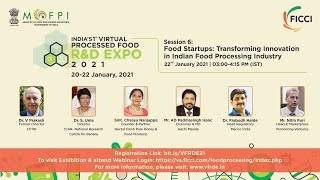 Food Startups: Transforming Innovation in Indian Food Processing Industry