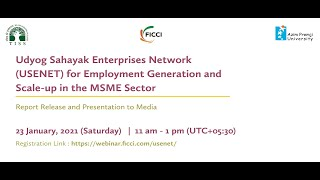 USENET FOR EMPLOYMENT GENERATION AND SCALE-UP IN THE MSME SECTOR