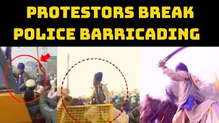 Tractor Rally: Protestors Break Police Barricading To Enter Delhi | Catch News