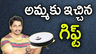 Best gift for mother Telugu || ECOVACS DEEBOT OZMO T8 Robot Vacuum Cleaner || Vacuuming Mopping