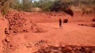 Sanguem | Illegal laterite stone quarry with the blessings of govt officials?