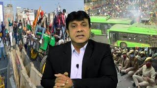 Krishi Kanoon Ko Lekar Kisan Hua Bekabu   Farmers Tractor Rally In Delhi   Full Report  @Sach News