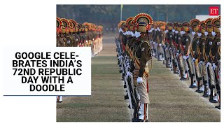 Google celebrates India's 72nd Republic Day with a doodle