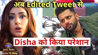 Shocking Disha-Rahul Ka EDITED Tweet Ho Raha Hai Viral, Disha Ne Diya Muh Tod Jawab   Bigg Boss 14