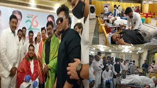 Mega Blood Donation Camp For Thalassemia Patients | Organised By Mukarram Ali Siddiqui |@Sach News