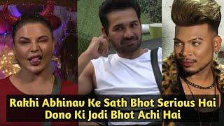 Rakhi Sawant Aur Abhinav Ki Jodi Best Hai - Says Rakhi's Friend Ishaan