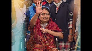 VK Sasikala walks free after serving four-year jail term in assets case