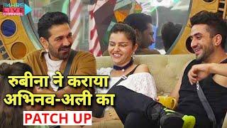 Rubina Ne Kara Diya Abhinav Aur Aly Ka Patch Up, Janiye Kya Hua? | Bigg Boss 14 Live Feed